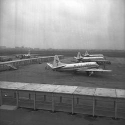 Aéroport de Bron : En restauration