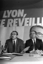 [Elections municipales à Lyon (1989) : lancement de la campagne des socialistes]