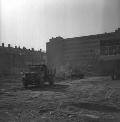 Ancien hôpital Desgenettes : Démolition
