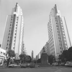 Quartier des Gratte-ciels à Villeurbanne