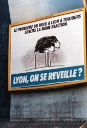 [Affiche du candidat Gérard Collomb pour les éléctions municipales de 1989]