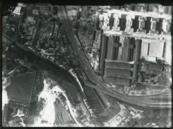 [Vue aérienne du quartier de Gorge-de-Loup]