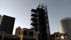 [Place Charles Béraudier, démolition du bâtiment B10]