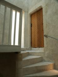 Anse, le Château des Tours, cours intérieure