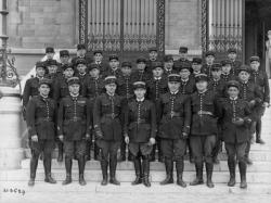 [Légion de garde républicaine mobile, Vaulx-en-Velin, 1938]