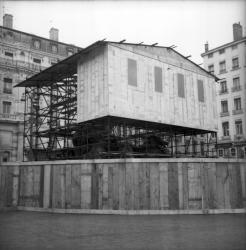 Fontaine Bartholdi : en restauration