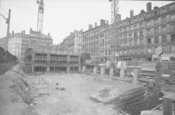 Rue Mercière en rénovation