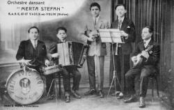 "Orchestre dansant ""Merta Stefan"". S.A.S.E., Vaulx-en-Velin (Rhône)"