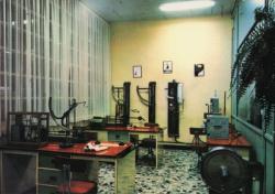 Société Rhodiaceta. Centre de Gorge-de-Loup : un laboratoire