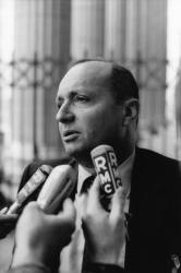 [Procès Klaus Barbie : Michel Goldberg, témoin du ministère public]