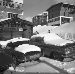 Tignes sous la neige