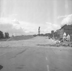 Pont de la Mulatière en construction