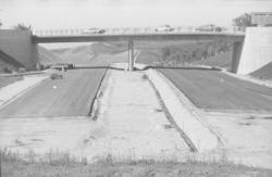 Autoroute A6 : En construction : portion vers Dardilly