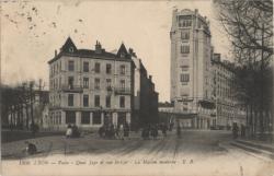 Lyon-Vaise : Quai Jayr et rue St-Cyr ; La maison moderne