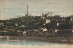 Lyon : Quai Pierre-Scize et  Fourvière