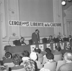 Cercle pour la liberté de la culture : Conférence sur Eichmann