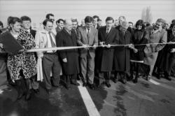 [Inauguration du Pont autoroutier de la RD6]