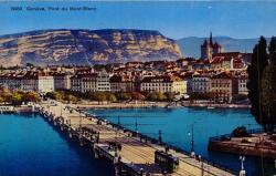 Genève - Pont du Mont-Blanc.