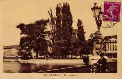 Genève - Ile Rousseau.
