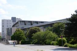 L'Ecole Normale Supérieure Lettres et Sciences humaines (Campus Descartes).