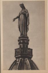 Lyon-Fourvière : Vierge dorée de l'Ancienne Chapelle.