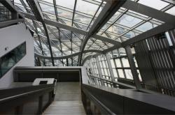Musée des Confluences, vue intérieure