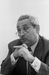 [Colonel Hocine Chabaga, adjoint au maire de Villeurbanne]