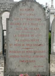 [Cimetière de Loyasse, tombeau de Madame Loras]