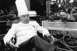 """[Roger Roucou au restaurant """"La Mère Guy""""]"""