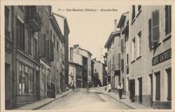 Lyon : L'Ile-Barbe (Rhône) ; Grande-Rue.
