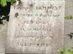 [Cimetière de Loyasse, tombe de Anne-François-Louis Janmot]