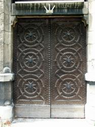 Couvent de la Visitation Sainte-Marie de Fourvière, portail