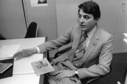 [Gérard Truchet, président de la Société des Amis de Lyon et de Guignol]