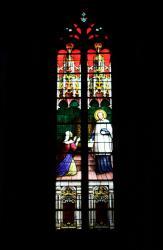 Châtillon-sur-Chalaronne, église Saint-André et Saint-Vincent-de-Paul, vitrail