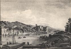 Lyon d'autrefois : Château de Pierre-Scize.