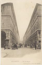 Chambéry : Rue de Boigne.