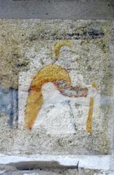 [Pusignan, chapelle de Moifond, peinture murale, 12e siècle]