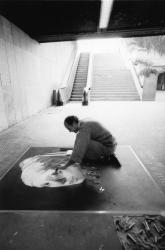 [Octobre des arts (1988) : 2e festival de peinture de trottoir]