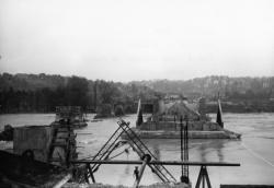 Pont Poincaré et viaduc sur le Rhône