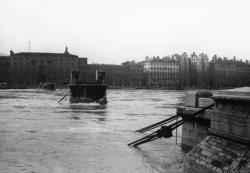 Passerelle du Collège sur le Rhône