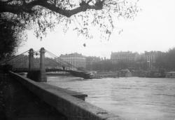 Pont Kitchener sur la Saône