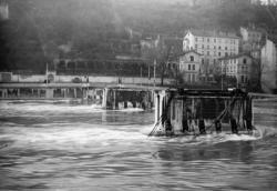 Pont d'Ainay sur la Saône