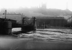 Pont du Palais de Justice sur la Saône