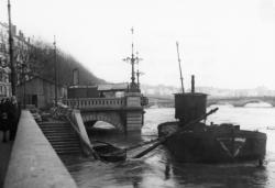 Pont La Feuillée sur la Saône