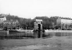 Pont du Port Mouton sur la Saône