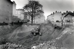 """[Construction de la résidence """"Le Hêtre pourpre"""", rue Henry-Gorjus]"""