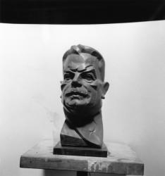 [Buste d'Edouard Herriot par Jean-Francois Routier]