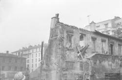 Quartier des Brotteaux/Garibaldi en démolition