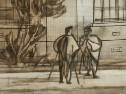 [Musée urbain Tony Garnier, Lyon 8e, hôpital de Grange-Blanche]