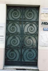 33, quai Arloing : porte d'entrée d'immeuble